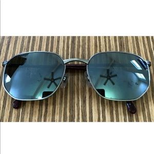 Serengeti Signia Hexagonal Sunglasses Metal Frame